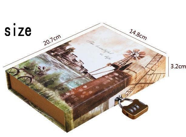 Как сделать блокнот с замком