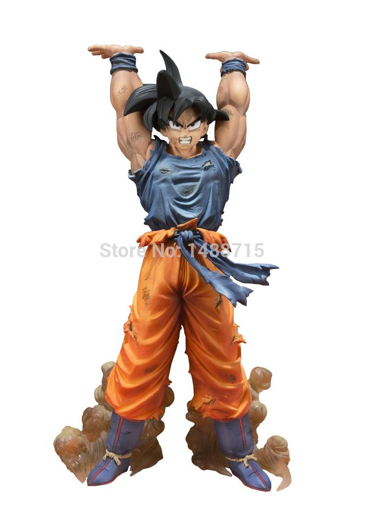 New Hot Comic Anime Akira Toriyama Dragon Ball Z Son Goku Spirit Bomb Ver. Battle 15CM Bandai Action Figure Toys (China (Mainland))