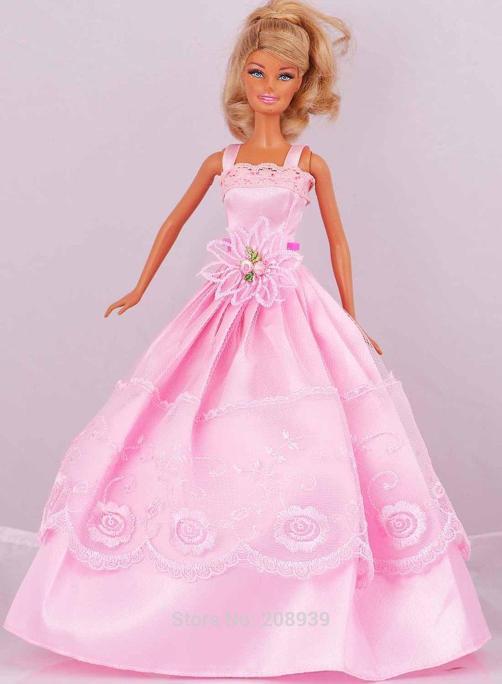 vestido vestido de festa vestido de roupas para 11 boneca Barbie D964
