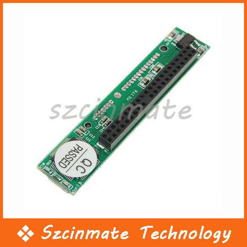 44 Pin IDE Female to 22 Pin Male SATA Adapter 100pcs/lot Wholesale(China (Mainland))