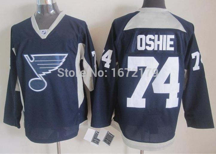 CHEAP 2015 NEW NHL ST.LOUIS BLUES T.J OSHIE JERSEY NAVY BLUE PRACTICE 100% STITCHED MENS HOCKEY JERSEYS(China (Mainland))