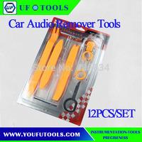 Hot Sale 12 PCS Universal Automotive Car Panel Trim Audio Remover Tools,Cheap Radio Tool Kit, Auto Radio Pry Tools
