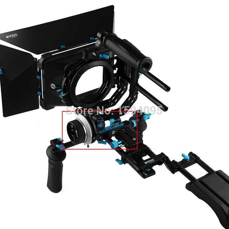 NEEWER DP3000 M1 Follow Focus for 15mm Standard Rod Rail DSLR Rig DSLR Nikon D90 D300s Canon 5DII 5DIII 5D II III 7D 600D(China (Mainland))