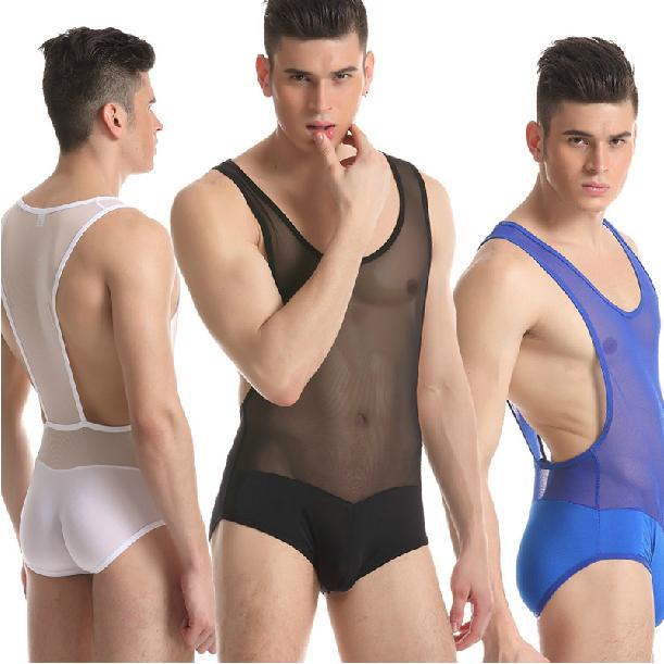 Мужская одежда для сна и дома Sheer Bodywear