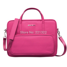 Women Leather Laptop Messenage Computer Case Gearmax Brand Bag For Laptop Waterproof Notebook Bag Christmas Gift Bag for Macbook