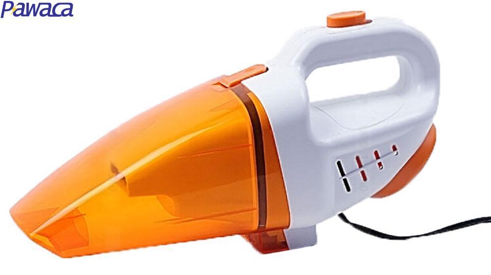 Pawaca Vehicle Automatic Wet Dry Dual Use 12V Mini Handheld Car Vacuum Cleaner (Orange)(China (Mainland))