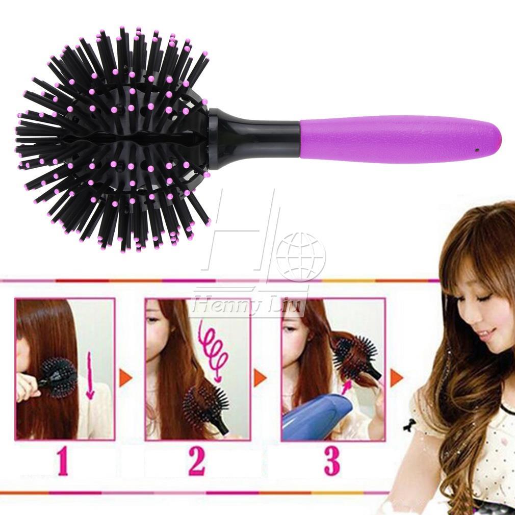 Щетка для волос 3D Detangling ZE06400 1шт высокого качества 2 015 бомба локон 3d щетка для волос бал стиль blow сушки detangling жаропрочных волос гребень горячие