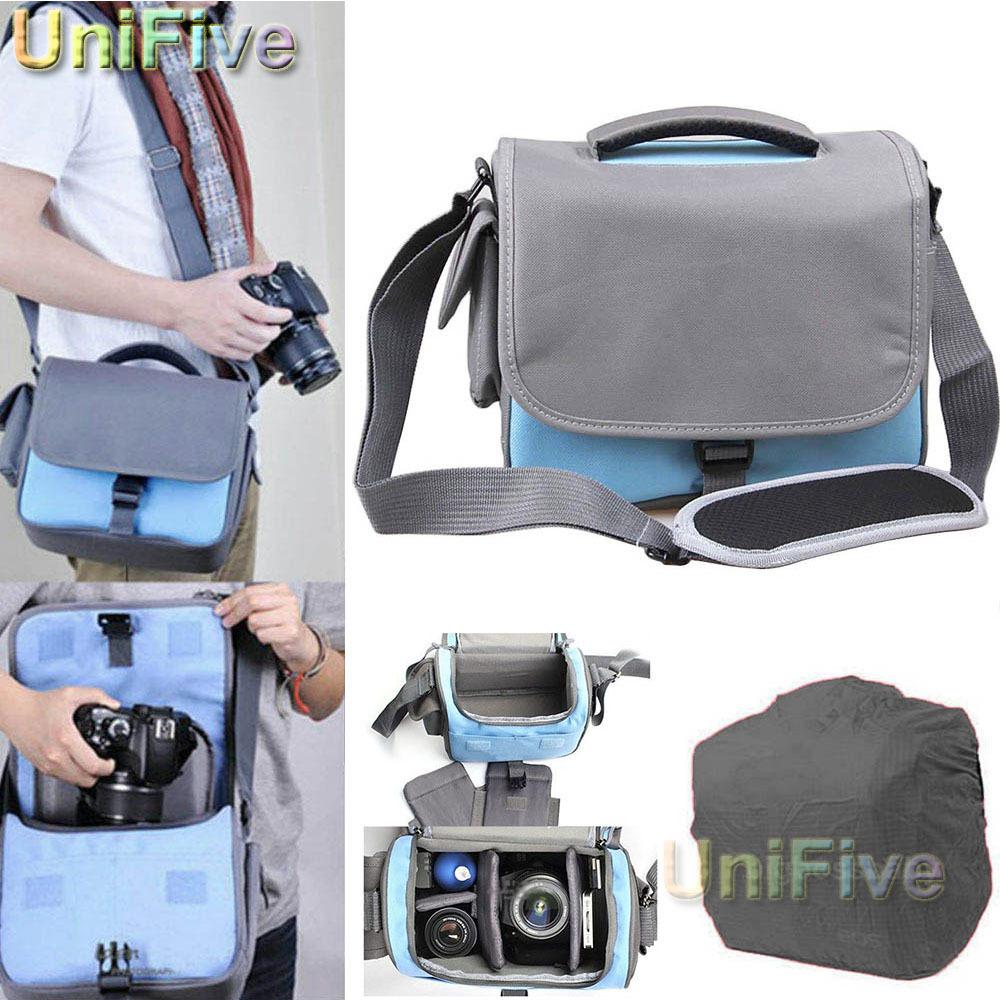 Canvas Walkabout Shoulder Messenger Camera Bag For Nikon D7000 D90 D300s D7100