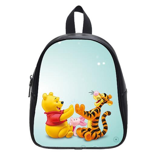 New Design Hot Sale Winnie The Pooh Bag Backpacks Custom Stylish Kid's School Bag For Boys And Girls Free Shipping PC-0628(China (Mainland))