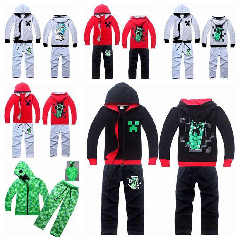 2015 children new clothes sets Zipper boys sport suit boy sets hooded coat + Pants 2 PCS 100% cotton clothing clothing(China (Mainland))