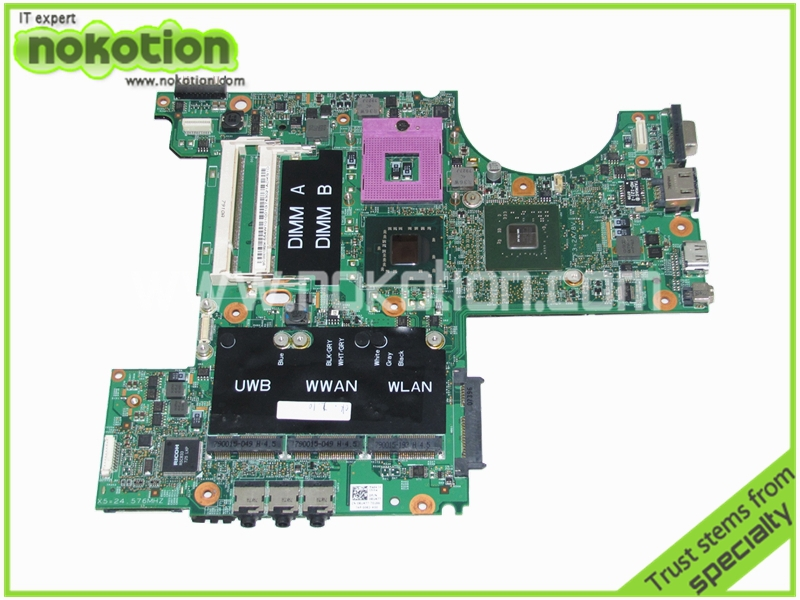 RU477 CN-0RU477 Laptop Motherboard for Dell XPS M1530 nvidia GeForce 8400M G86-731-A2 update graphics Mainboard(China (Mainland))