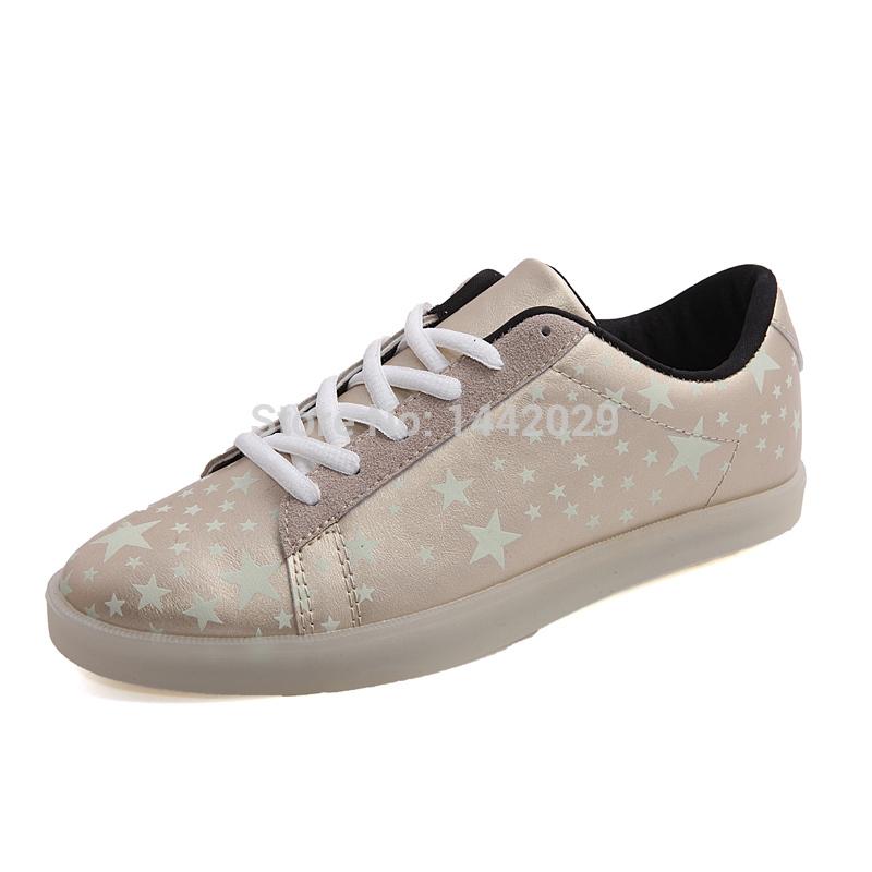 Любовника обувь спорт свободного покроя марка скейтбординг обувь вилочная часть и женское флуоресценция кроссовки 36 - 44 DZ-5188