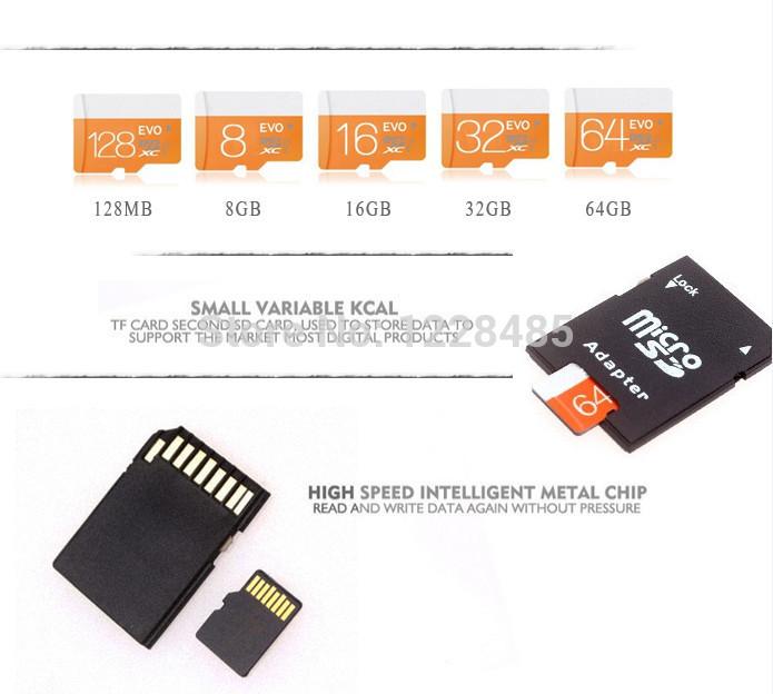 high quality memory card 128mb2gb4gb8gb16gb32gb TF card card reader+ Micro sd card +adapter micro sd Real capacity on sale T4(China (Mainland))
