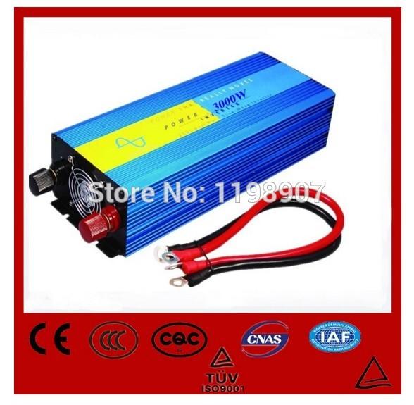 3000W 48V DC to AC 230V/220V Off Grid Pure Sine Wave Solar Inverter or Wind Inverter, Surge 6000w, 50Hz/60Hz , Single Phase(China (Mainland))