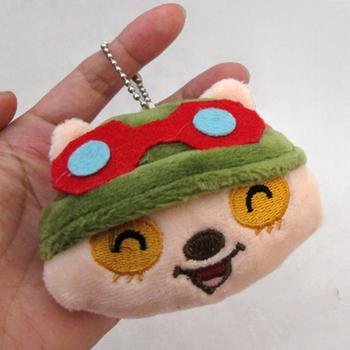 2015 прямых продаж 7 см LoL Teemo игрушки специальное предложение > 3 лет мужской игрушки миньон мягкие куклы подарок косплей игры аниме