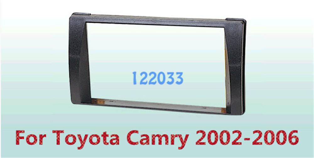 2 Din Car Frame Dash Kit / Car Fascias / Mount Bracket Panel For Toyota Camry 2002 2003 2004 2005 2006(China (Mainland))