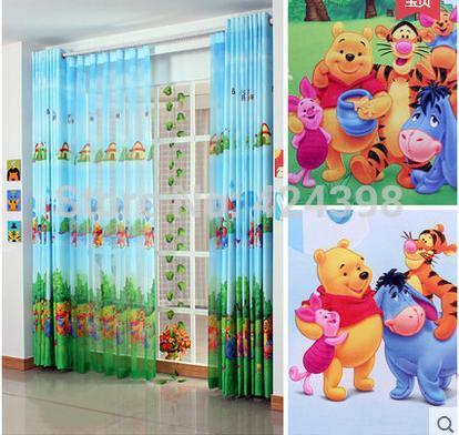 Moderne rustique enfants fen tre rideaux tissu imprim - Rideaux chambre d enfant ...
