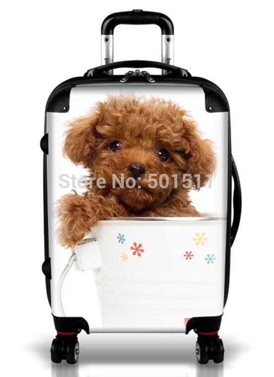 Customized hardshell trolley China factory kids luggage set animal kids luggage(China (Mainland))