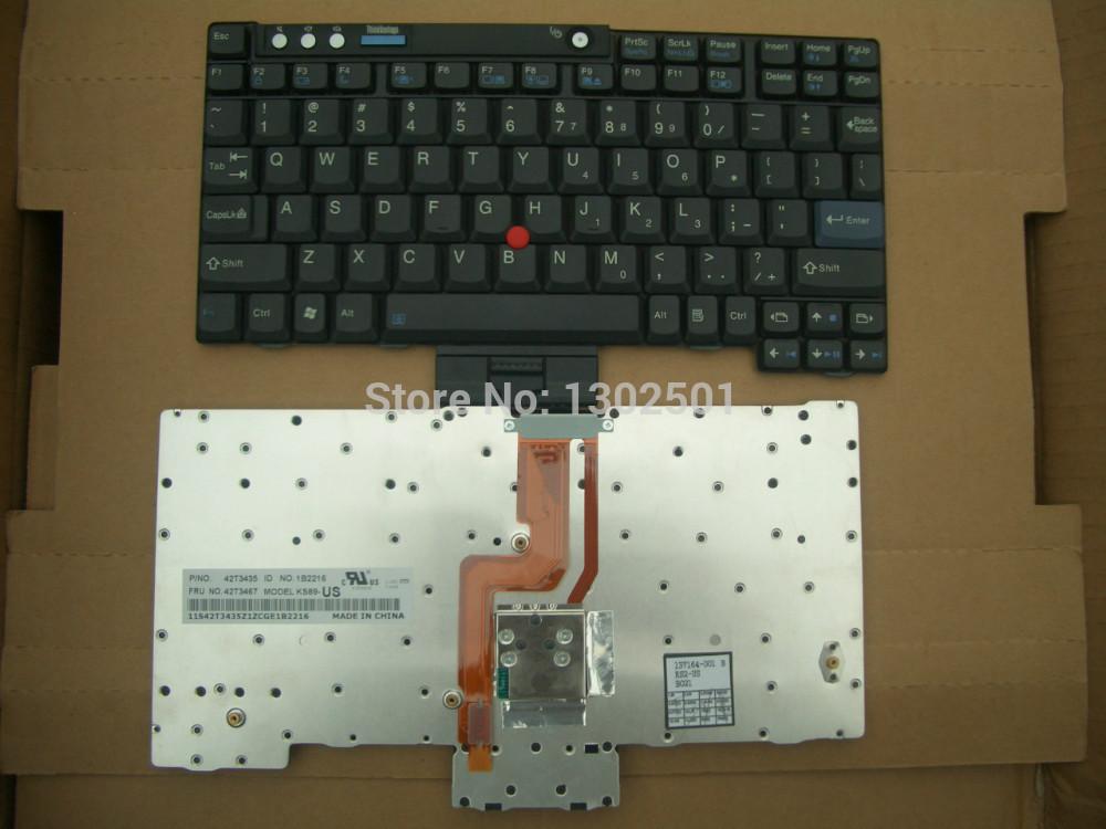 New original keyboard for IBM (Lenovo) Thinkpad X60 X61 X60S X61T X61S X60T keyboard US Layout(China (Mainland))