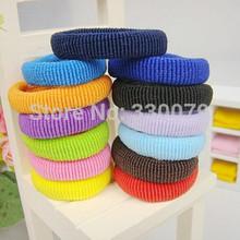TS013 Hot Sell 2015 Fashion Jewelry cheap plush hair tie rubber band headdress hairband Wedding Accessories(China (Mainland))