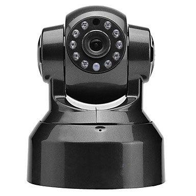 FKH SP-T01WP Wireless Wifi Pan/Tilt IP Camera with Micro SD Slot(IR,IR CUT,Motion Detection,Two Way Audio,P2P,Black)(China (Mainland))