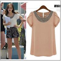 Женские блузки и Рубашки Brand new Blusa 2015 Roupas Camisas