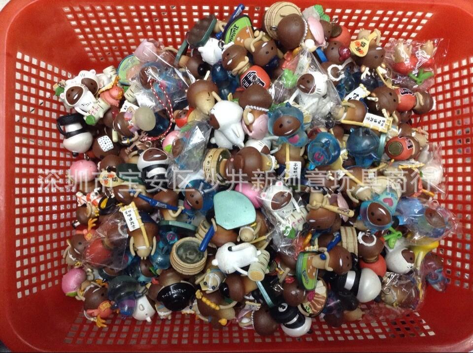 50PCS/set mushroom people little mushroom Action Toy Figures Jun mushrooms villain doll mini mushroom Aficiones Model ornaments(China (Mainland))