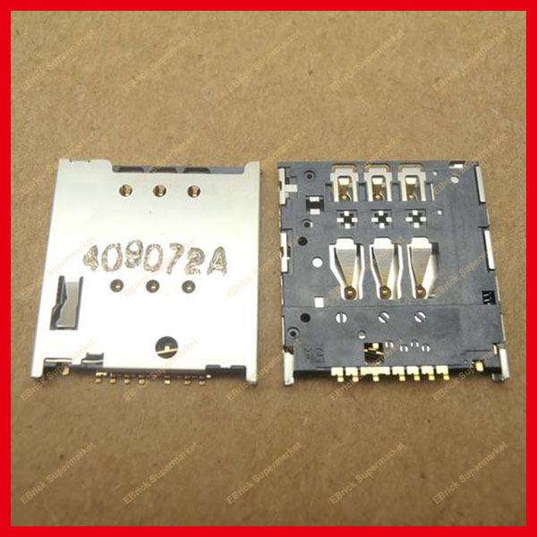 50pcs/lot Original New Phone SIM card holder Tray Slot For SONY Ericsson LT22 LT30 LT22i MOTO XT910 MT917