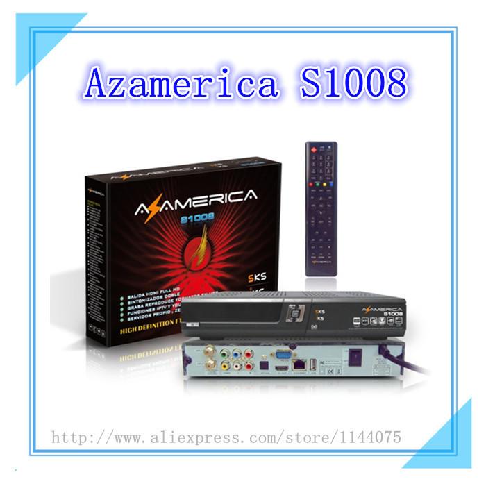 Original Az america s1008 Brazil World Cup set top box IKS+SKS Support IPTV better than azamerica s1001 s1005 azbox titan(China (Mainland))