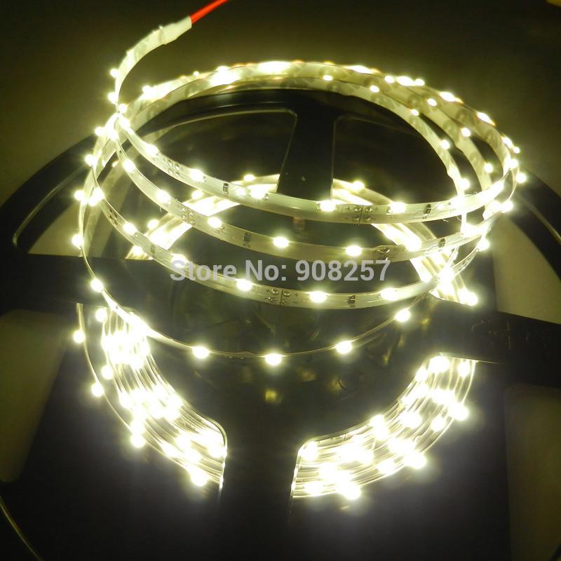 free shipping NEW Nature White Side Emitting SMD 335 5M 60leds/m 300leds LED Strip DC 12V NP(China (Mainland))
