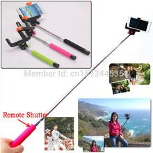 Cell Phone Bluetooth Extendable Selfie Stick Monopod Pole For LG G3 Mobile Phone suporte para celular
