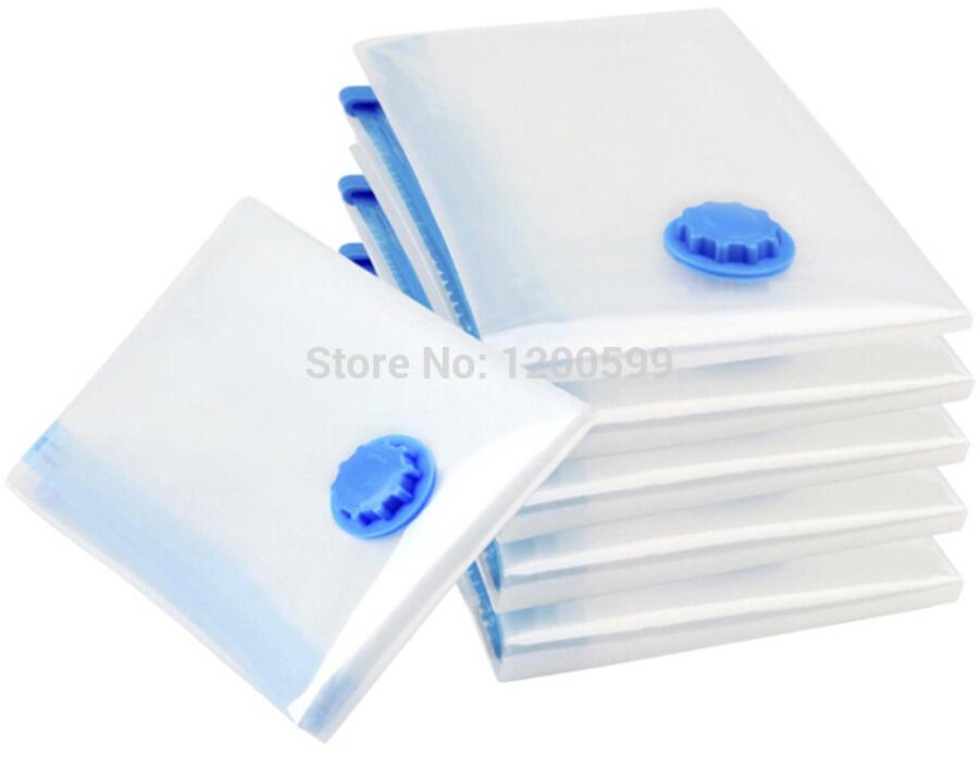 5pcs/lot 40*50/50*70/60*80/70*100 Vacuum Bag, Vacuum Storage Bag, Space saving bag for clothing and bedding(China (Mainland))