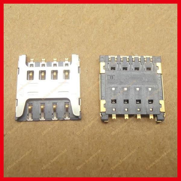 30pcs/lot Brand new Mobile phone SIM card holder SIM card Slot For HUAWEI 3C HOL-T00