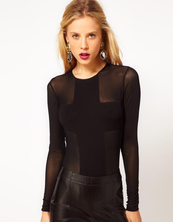 Блузка Сетка Купить