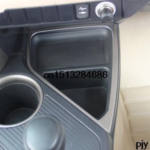 Car central storage box Stainless Steel trim Storage box Decoration trim for Toyota Rav4 Rav 4