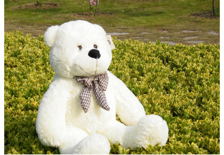 High quality! Big size 80cm Teddy Bear Big embrace bear Plush dolls Stuffed Toys for Christmas gifts free shipping(China (Mainland))
