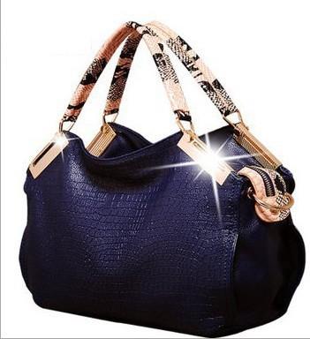 2015 Fashion Tote Alligator Pattern New Hot Top Women Handbags Lady