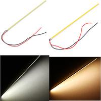 Ultra-thin 5W LED COB 60 Chip Led Driving DRL Daytime Running Light Lamp Bar Strip 20cm Auto Car lighting Aluminum 12V DIY Lamp