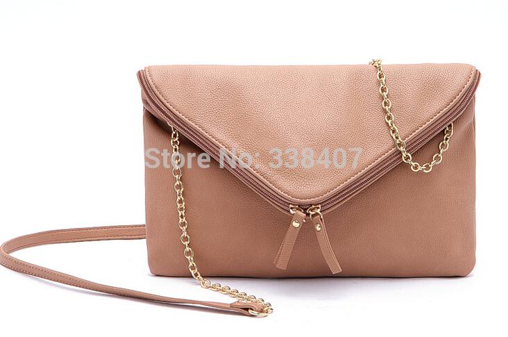 Ladies Envelop Evening Bags Women Fashion Chain Handbags Bags for Women(China (Mainland))