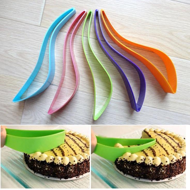 Cake Server DIY Baking Utensils Cake Knife Cutting Knives Tools Cutter Kitchen Gadget Drop Shipping HG-1019/br(China (Mainland))