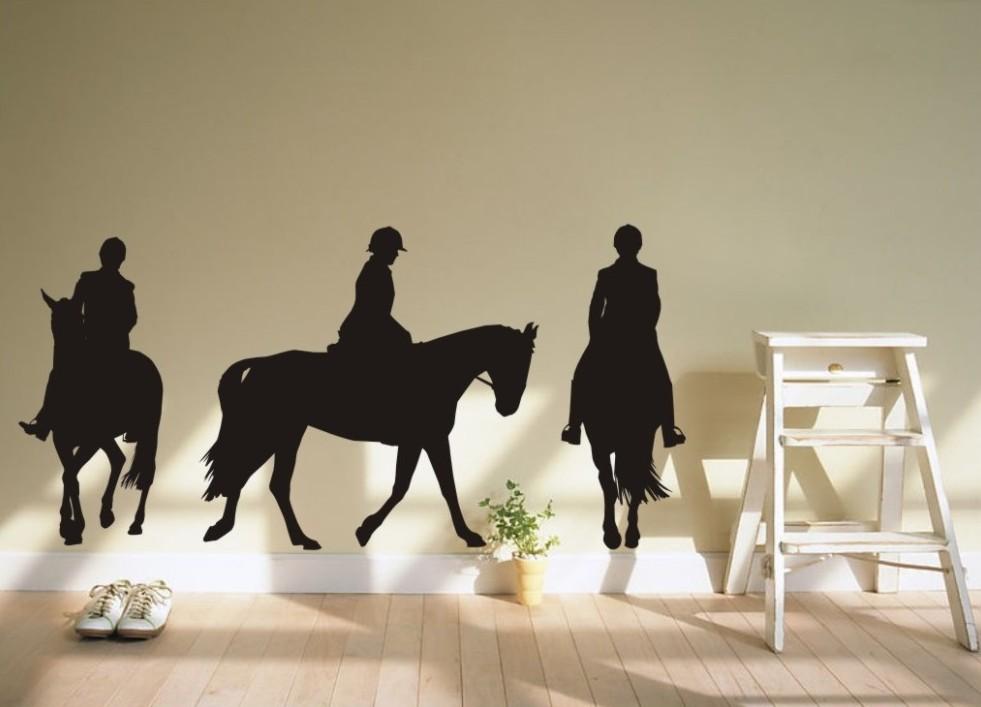 Adesivos de parede home decor sala art papel de parede for Decalque mural