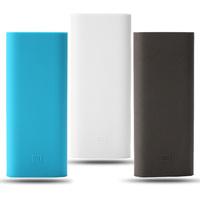 Original Xiaomi 16000mAh Power Bank Silicon Case For Xiaomi Power Bank Soft Colorful Case Power Bank Protector High Quality