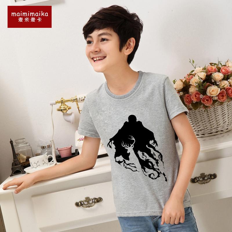 Children T Shirt Rock Star Expecto Patronum4 T-shirt Tshirt Kids Printed Top Tees For Girls Boys(China (Mainland))