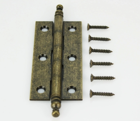 """3.5"""" Solid Brass hinges,Cabinet Hinge with Ball Tips,hinges Pack of 4(China (Mainland))"""