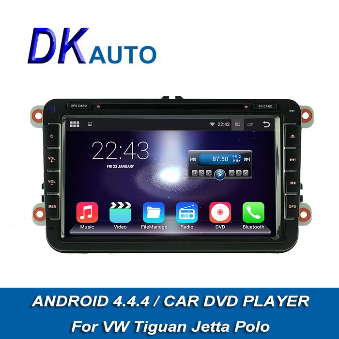 2015 New Android 4.4.4 Car Radio For VW Skoda Seat 1G 2 Din 8 Inch DVD GPS Navigation Wifi Music SWC 3G Bluetooth Audio DVB T2(China (Mainland))