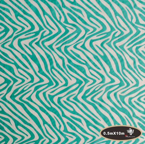 High quality zebra stripes hydro/water transfer printing hydrographics film 50cm*10m aqua print HFZ016-1(China (Mainland))