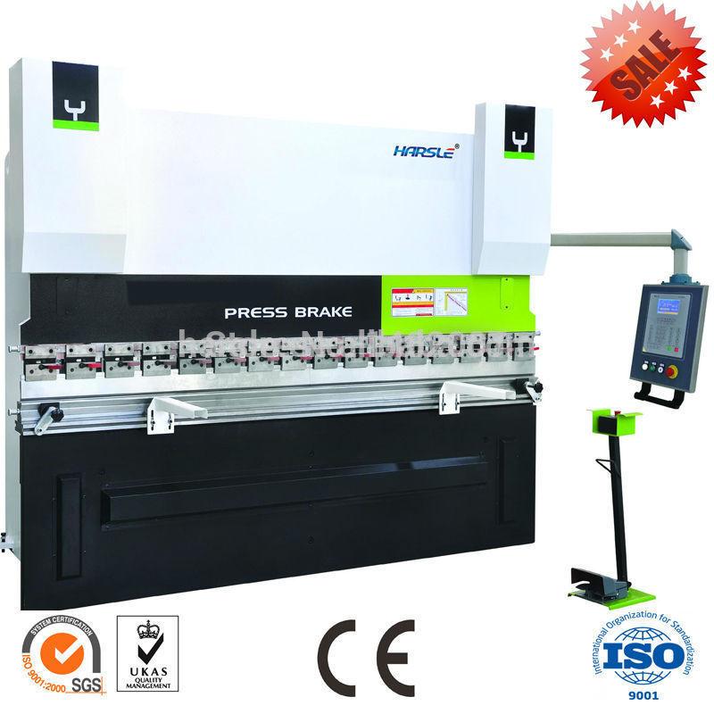 Hydraulic sheet metal folding machines/WC67Y-3000*3200/iron folding machine(China (Mainland))