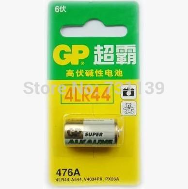 Сухая электрическая батарея 2015 0riginal 5 /gp 6V 4LR44 476A gp476A PX28A pilas