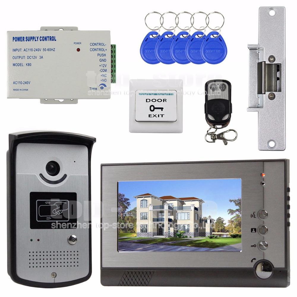 Видеодомофон TOP 7/tft RFID SY805MEID11 люстра подвесная mw light ариадна 450016305
