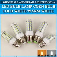 E27 LED E14 LED Lamps 5730 220V 7W 12W 15W 18W 20W LED Lights Corn Led Bulb Christmas Chandelier Candle Lighting 1PCS/Lot
